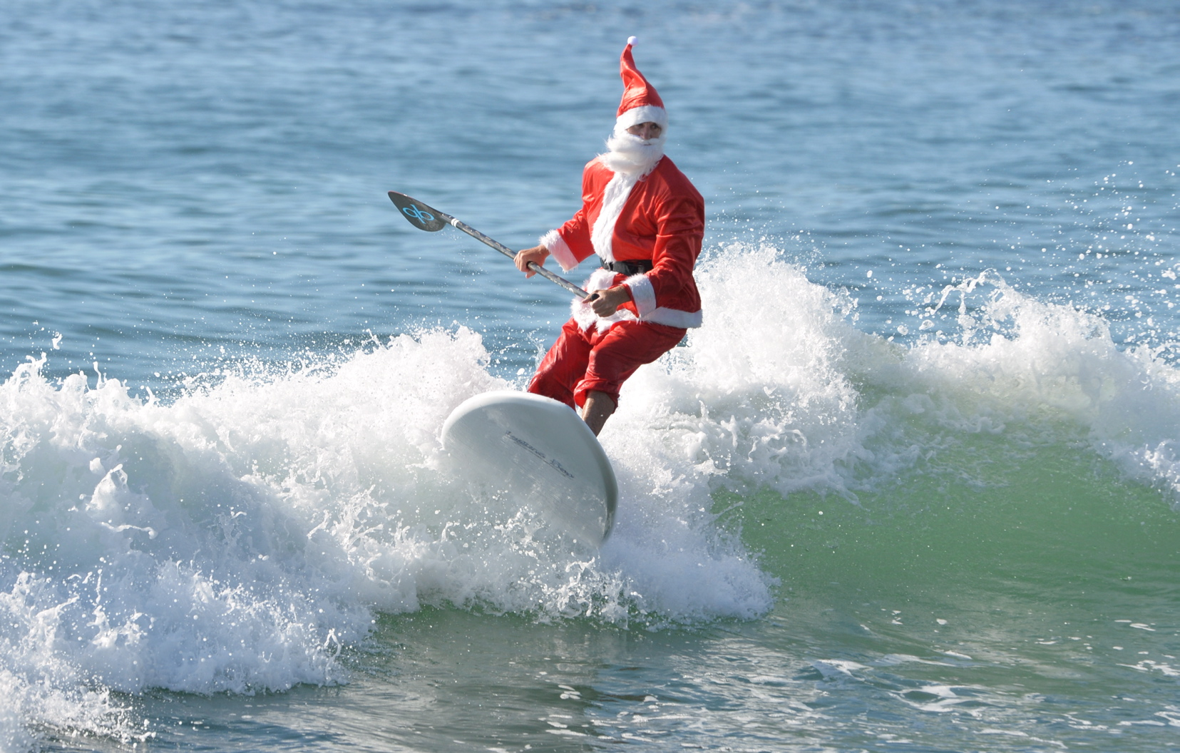 REX Feature - Santa Clause, Stand Up Paddle Boarding ...