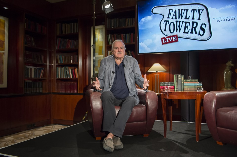 JOHN CLEESE ANNOUNCES THE AUSTRALIAN ACTOR TO PLAY BASIL FAWLTY IN WORLD PREMIERE OF FAWLTY TOWER LIVE TO OPEN IN SYDNEY THIS YEAR