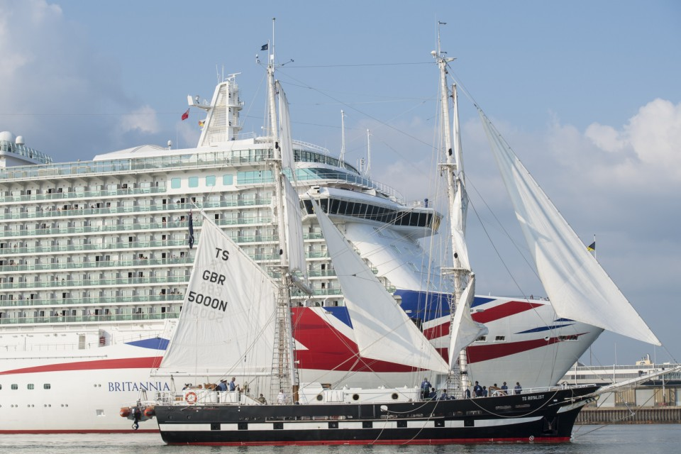 P&O Cruises And Sea Cadets Celebrate Partnership