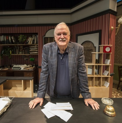 John Cleese arrives on set – Sydney, Australia