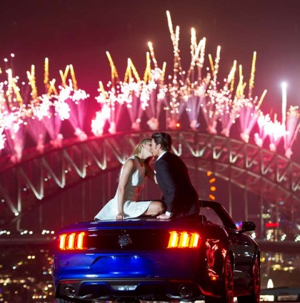 2015 Ford Mustang Launches Sydney NYE – Sydney, Australia