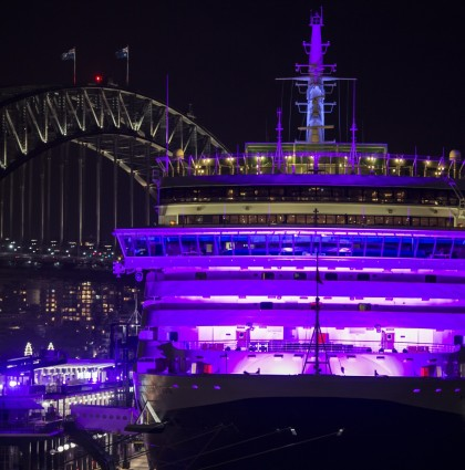 Queen Victoria Illuminated for International Women's Day – Sydney, Australia
