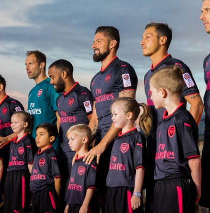 Arsenal Kit Launch – Sydney, Australia