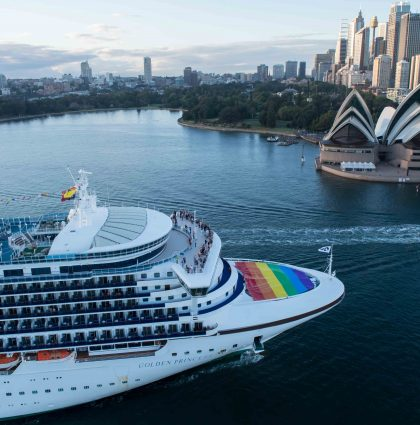 Golden Princess – Australian Marriage Equality