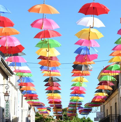 Umbrellas in France – Beziers, France