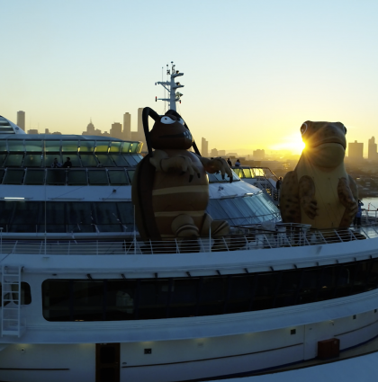 P&O Cruises – State of Origin,- Melbourne, Australia