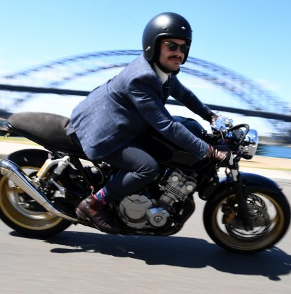 Distinguished Gentleman ride – Sydney, Australia
