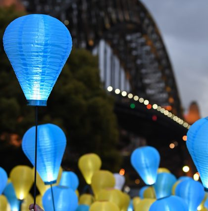 Light The Night Lantern Walk – Sydney, Australia