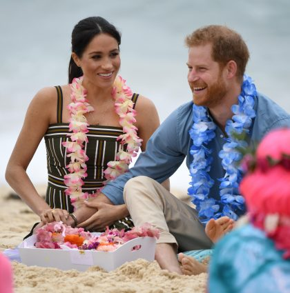 HRH The Duke And Duchess Of Sussex Visit Bondi – Sydney, Australia