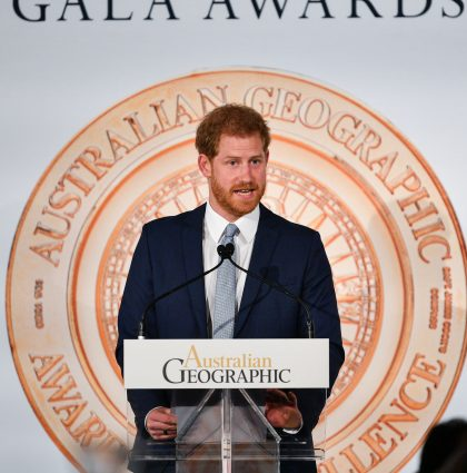 HRH The Duke And Duchess Of Sussex Visit Geographic Awards – Sydney, Australia